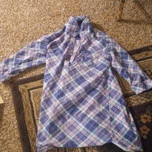 Joe Boxer Long Flannel Shirt